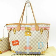 Louis Vuitton Pole Summer Trunk Neverfulle Mm With Pouch No.5175