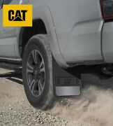 Cat Mud Flaps Splash Guards For Front Or Rear Tires Easy Install-free Shipping