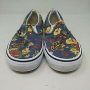 Off The Wall Womenand039s Multicolored Floral Slip On Sneakers Size 6.5