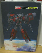 Transformers Igear Pp03a Attack Fighter Team Masterpiece Scale Mib Thrust