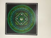 Unique Mandala Wall Art , Personalized And Single Piece Only