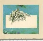 Vintage Aesthetic Spring Lily Of The Valley Flowers Picture Collage Art Print