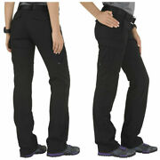 New W/tags 5.11 Tactical Women Stryke Pants Size 10 Regular Black Cargo Police