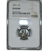 The Rare And Now Highly Sought After 1911 Matte Proof In Pf 64 Only 1725 Minted