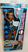 Monster High Robecca Steam Dead Tired Doll New In Box