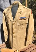 Wwii 32nd Infantry Division Summer-weight Officer Uniform Ww2