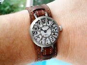 Wwi Elgin Trench Watch Mealy Radio Crystal Guard 17 Jewels Re-lumed 0s