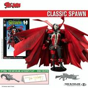 2020 Mcfarlane Spawn Kickstarter 7 Sealed Classic Spawn From Trilogy 3 Pack New