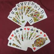 Vintage Austrian Card Game Set Of Playing Cards