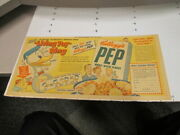 Newspaper Ad 1949 Donald Duck Cereal Box Premium Living Toy Magnet Ring Disney
