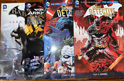 4 Batman Graphic Novels, Used In Mint Cond Lot Collection Bulk Pack Dc Mixed