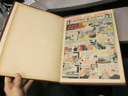 Nysn 1946 Bound Sunday Newspaper Comics +cereal, American Flyer Lionel Train Ads