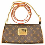 Louis Vuitton Eva M51387 Women And039s Shoulder Bag Previously Owned No.9581