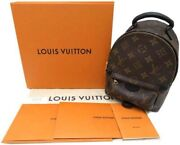 Louis Vuitton Palm Springs Backpack Mini M44873 Monogramstyle No.6799