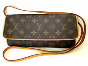 Louis Vuitton Pochette Twin Gm M51852 The Real Thing Made In Rare Usa No.9259