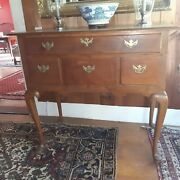 Tiger Maple, Low-boy, Drawers, Antique, Maple, Used