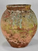 Antique French Clay Pot With Timeworn Patina 17