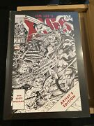 Jim Lee X-men Artist Edition Signed And Numbered Variant Brand New 65/175