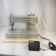 Sears Kenmore 158.19461 Heavy Duty All Metal Sewing Machine W/foot Pedal And Case