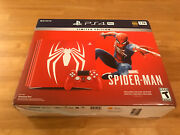 Playstation 4 Pro 1tb Limited Edition Marveland039s Spider-man Console - Sealed
