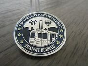 Nypd Transit Bureau Mission First People Always Challenge Coin 75d