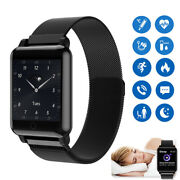 Chic Smart Watch Body Temperature Heart Rate Blood Pressure Sport Touch Screen