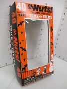 Williamson Candy Bar Company 1960s Box Store Display Oh Nuts Halloween Witch Bat