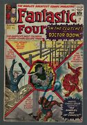 Marvel Comics Fantastic Four In The Clutches Of Dr Doom 17 3.5 Vg- 1963