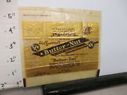 Candy Bar Wrapper 1940s Butter-nut Hollywood Centralia Il 2 Oz 5 Cents