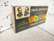 Candy Box Smith Brothers 1950s Cough Drops Fruit Full Sealed Store Display