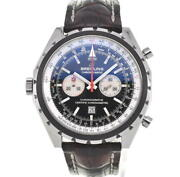 Breitling Chronomatic A41360 Chronograph Blackdial Automatic Mens Watch H106659