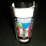 Rare Martian Lager Beer Pint Size Vintage Beer Glass Buckeye Brewing Company