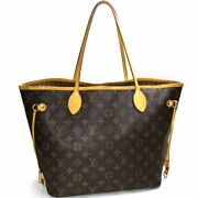 Louis Vuitton Neverfulle Mm Tote Bag Monogram M40156 Previously Owned No.6285