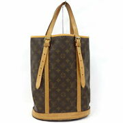 Louis Vuitton Tote Bag Bucket Gm Mini Pouch Missing Inner-backed No.9713
