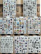 All Types Of Character Nail Stickers Tokyo Revengers