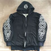 Chrome Hearts Hoodie Black L Size Fashion Goods Vintage From Japanese K9513