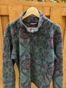 Vintage Burton Snowboards 1993 Pattern Fleece Pullover Rare Brushie Kelly 1990and039s