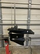 Used 20 Johnson Evinrude Outboard Lower Unit/gearcase Omc 150 175 Hp 60anddeg Engine