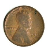 1913 P Lincoln Wheat Penny Circulated Coin Copper Fill Your Coin Book 0933
