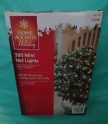 Home Accents Holiday 300 Mini Net Lights Clear High Density