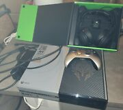 Xbox One Cod Bundle Shadow Controller, Headset, And Controller Charger.