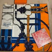 Hermes Limited To Ginza Only In The World Carre 90 Scarf With Special No.6422