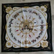 Hermes The Royal Muse Buckingham Palace Stables Scarf Boyfriend No.5125