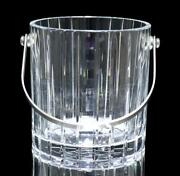Baccarat Harmony Ice Pale Large Thickness Made Of Crystal Glass Table