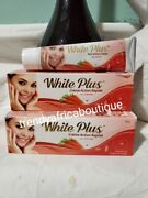 White Plus Fast Action Whitening Tube Cream With Carrots Extracts 50g Tube X2