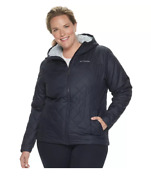 Plus Size Columbia Copper Crest Hooded Quilted Jacket 2xl
