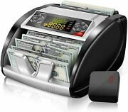 New Money Bill Cash Counter Bank Machine Currency Counting Uv Mg Counterfeit-