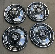 Chevrolet 1969-72 Chevy Truck Hubcaps 15 Set Of 4 69 70 71 72