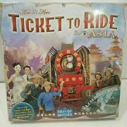 Ticket To Ride Asia - Map Collection -volume 1 Days Of Wonder Sealed New Read