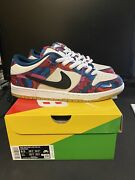 Nike Sb Dunk Low Pro Parra Abstract Art 2021 Size 9.5 Brand New